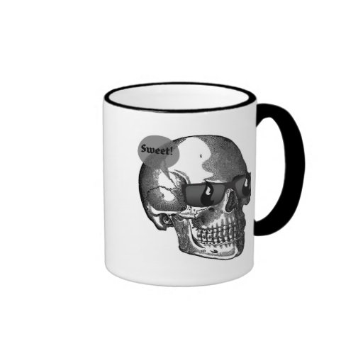 SWEET SKULL WITH SHADES MUGS