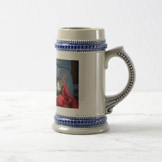Sweet Sleeping Kitties Beer Stein