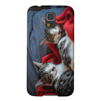 Sweet Sleeping Kitties Galaxy S5 Case