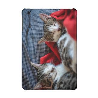 Sweet Sleeping Kitties iPad Mini Cover
