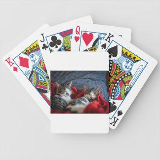 Sweet sleeping Kitties Poker Deck
