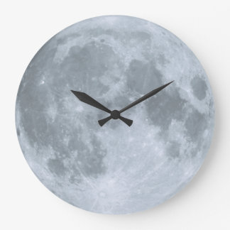 Sweet Slumbers Nursery Blue Moon Large Clock