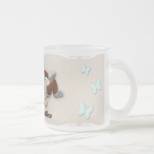 Sweet Smiles Frosted Glass Mug