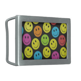 Sweet Smiley Face Belt Buckle