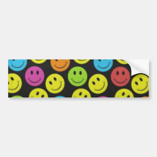 Sweet Smiley Face Bumper Sticker