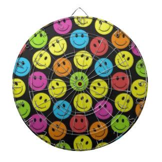 Sweet Smiley Face Dartboard