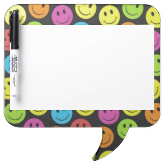 Sweet Smiley Face Dry Erase Board