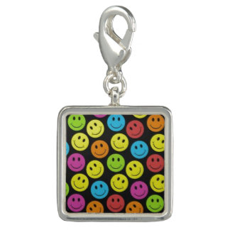 Sweet Smiley Face Photo Charms