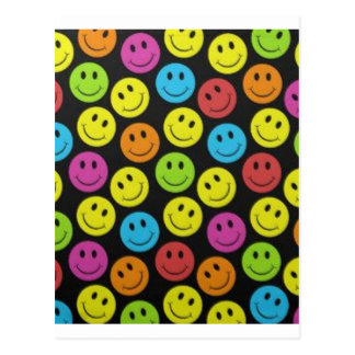 Sweet Smiley Face Postcard