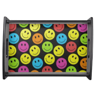 Sweet Smiley Face Serving Tray
