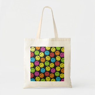 Sweet Smiley Face Tote Bag
