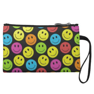 Sweet Smiley Face Wristlet