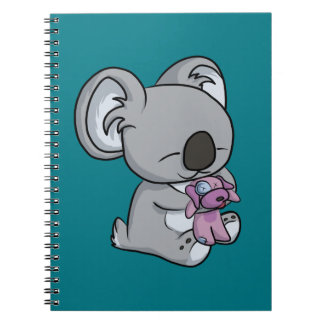 Sweet Snuggles! Koala Spiral Notebook