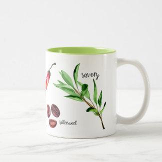 Sweet & Spicy Two-Tone Coffee Mug