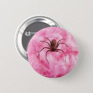 Sweet spider 2 inch round button