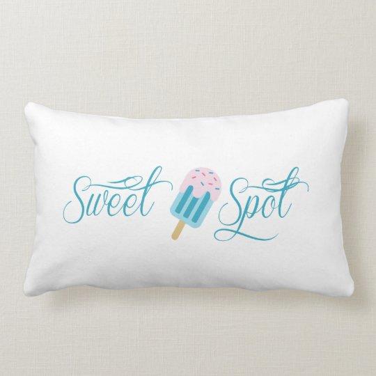 Sweet Spot Popsicle Cute Lumbar Pillow