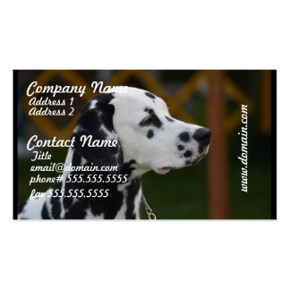 Sweet Spotted Dalmatian Business Card Templates