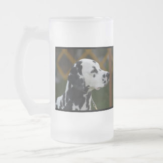 Sweet Spotted Dalmatian Frosted Beer Mug
