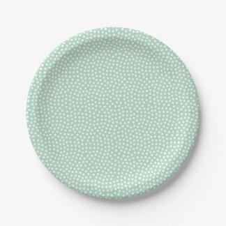 Sweet Sprigs Gender Neutral Baby Shower Plate