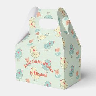 Sweet Spring Birdies Gable Favour Box