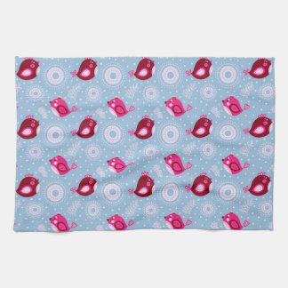 Sweet Spring Birds Kitchen Towel