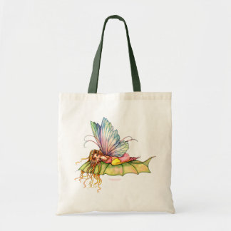 Sweet Spring Fairy Tote Bag, Faery Art Budget Tote Bag