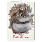 Sweet Squirrel Easter Card
