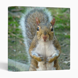 Sweet Squirrel Face Binder