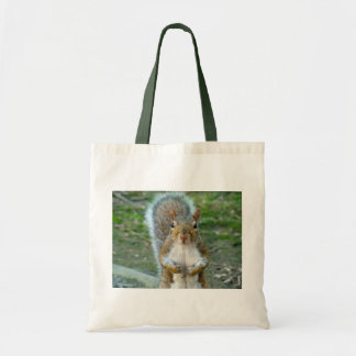 Sweet Squirrel Face Tote Bag
