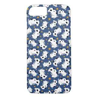 Sweet Star Dog Patterned iPhone 7 Case