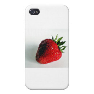 Sweet Strawberry phone cover Cases For iPhone 4