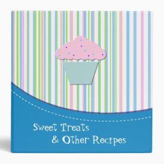 Sweet Striped Recipe Binder
