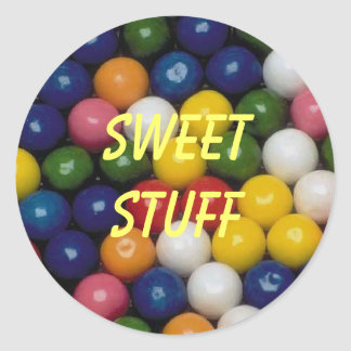 Sweet Stuff Gumball Sticker