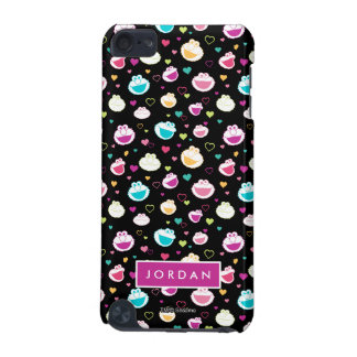 Sweet Stuff Heart Pattern   Add Your Name iPod Touch (5th Generation) Case