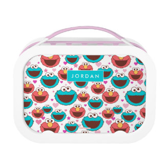 Sweet Stuff Heart Pattern | Add Your Name Lunch Box