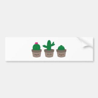 Sweet Succulent Bumper Sticker
