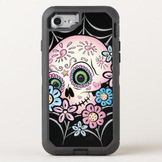 Sweet Sugar Skull OtterBox Defender iPhone 7 Case