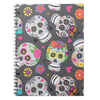 Sweet Sugar Skulls Notebook