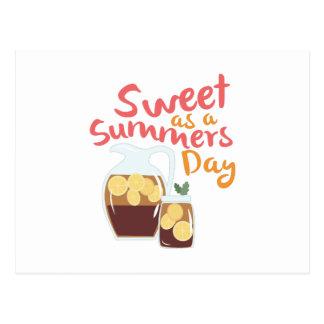 Sweet Summer Day Postcard