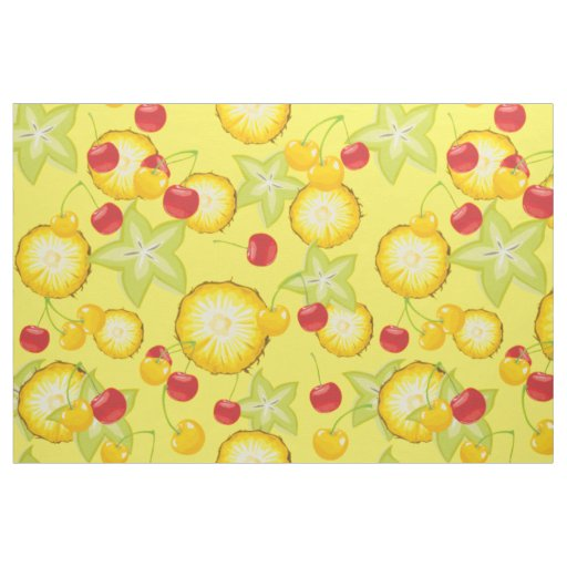 Sweet Summer Fruits Fabric