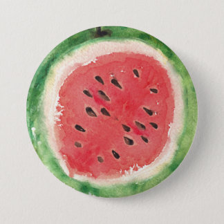 Sweet Summer Fun Melon Fruit Party 3 Inch Round Button