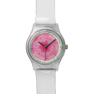 Sweet Summer Fun Melon Fruit Party Wristwatches
