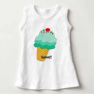 Sweet Summer Fun Sleeveless Baby Dress