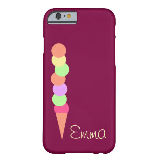 Sweet Summer Ice Cream Barely There iPhone 6 Case