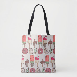 sweet summer tote bag
