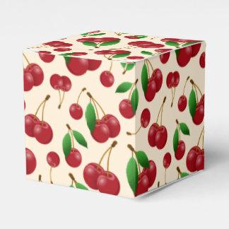 Sweet summertime cherries favor boxes