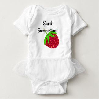 Sweet Summertime Strawberry Bodysuit