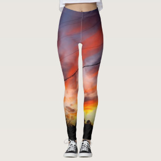 Sweet Sunset Leggings