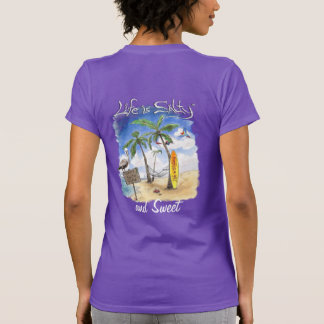 Sweet surfing style shirt for her by Life is Salt!