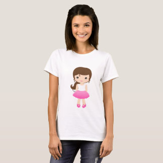 SWEET T-SHIRT DRINKS ROSA FashionFC